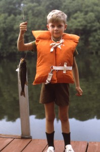 A Boy and his Trout