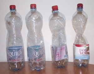 shrinking bottles