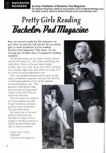 Harlean Carpenter in Bachelor Pad Magazine