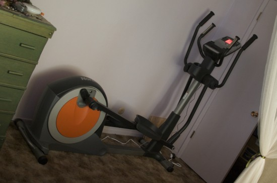 Our Elliptical Trainer, Fully Deployed
