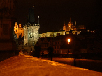 Castles, churches, and stuff from the charles bridge, prague