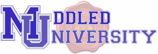 Muddled University Banner Logo