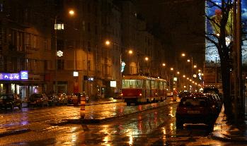 Prague Rain, 5:30 am