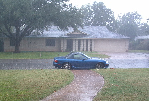 Rain in San Angelo