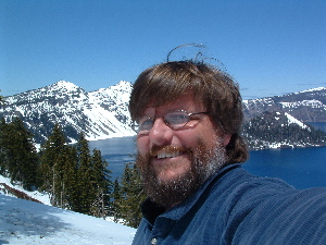 self-portrait crater lake